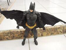 "Batman Dark Knight Movie w/ Action Cape 13"" DC Comics Bale Figure by Mattel"