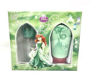 Disney Princess Castle Ariel Perfume & Shower Gel Mermaid Gift Set 1.7oz/2.55oz