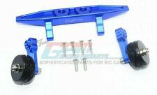 GPM Racing Traxxas Rustler 4X4 Blue Aluminum Adjustable Wheelie Bar RUS4040R-B