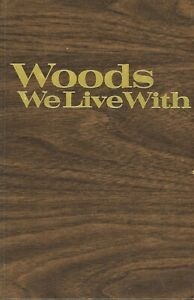 Wood Type Identification & Finishes Actual Wood Samples / Illustrated Book