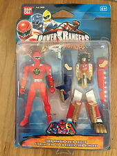 Power Rangers Dino Trueno Red Ranger blindado Megazord Nuevo Sellado Blister