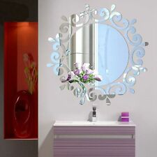 Vogue Decorative Mirror Acrylic Wall Stickers Home Room Mural Decal Modern Art