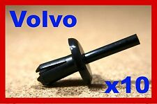 10 Volvo stoßstange kotflügel abdeckung drucknieten typ