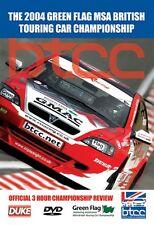 BTCC 2004 DVD. VAUXHALL ASTRA TOURING CAR. THOMPSON, MULLER 225 Min. DUKE 3924NV