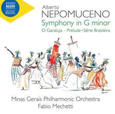 Alberto Nepomuceno : Alberto Nepomuceno: Symphony in G Minor CD (2019)
