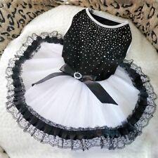 Puppy Tutu Dress Lace Dress Cute Pet Princess Apparel Clothes Party Dog