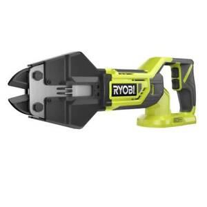 Ryobi ONE+ Cordless Bolt Cutter 18 Volt Cutting Power Tool Steel Jaw Cutting Job