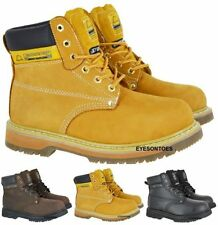 Unbranded Work Boots Lace Up Shoes for Men