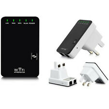 802.11N WPS 300Mbps Wifi Repeater AP Wireless  Router Range Expander EU Plug