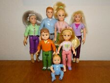 Fisher-Price Loving Family Dollhouse Figures Mom Dad Sister Brother Baby Grandma