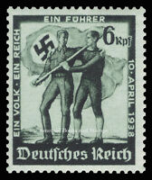 EBS Germany 1938 Austrian Anschluss Berlin issue Michel 662 MNH**