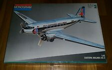 Monogram 1:48 Eastern Airlines DC-3 Plastic Aircraft Model Kit #5610