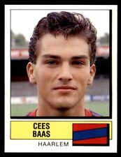 Panini Voetbal 88 (Nederland) Cees Baas Haarlem No. 157