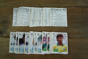 Panini Italia 90 World Cup Football Stickers - VGC! - Pick The Stickers You Need