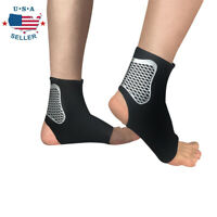 Adjustable Ankle Brace Support Compression Sleeve Pain Relief Elastic Foot Wrap