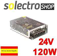 Fuente de alimentación DC 24V 5A 120W TIRA LED Switching Power Supply