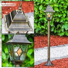 Garten Laterne Aussen Steh Leuchte Wegeleuchte Wege Lampen Pollerleuchte Glas
