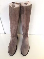 MICHAEL KORS BOOTS KNEE HIGH TAUPE SUEDE CREPE SOLE SZ US 7.5 M