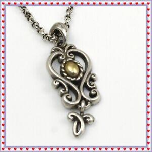 Brighton Vintage Silver Gold Necklace