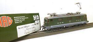 "HAG H0 167 E-Lok BR Re 4/4 II SBB, # 11321 ""Lausanne"" Metall f. Märklin/AC   E43"