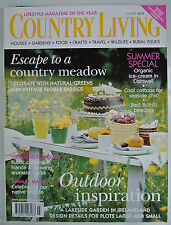 Country Living Magazine. July, 2004. Issue No. 223. Escape to a country meadow.