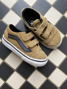 Toddler Vans Size 6 Brown / Tan