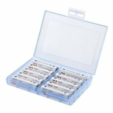 Storage Case for Rechargeable Eneloop AA & AAA Battery / Plastic Case Holder