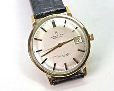 HAMILTON Masterpiece Thin-O-Matic Automatic Date Dress Watch, 10K GF Gorgeous