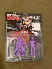 The Walking dead SkyBound Exclusive Image Comics Mini Figures Jesus Purple NEW