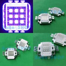10W 45mil UV 400nm-410nm Purple High Power LED Lamp Light Ultra Violet Emitter