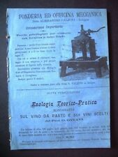 Raccolta 9 fascicoli GIORNALE VINICOLO ITALIANO Casale Monferrato fine '800