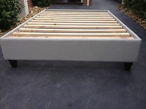 Upholstered Bed Bases / Queen Size / Australian Made Bedbase