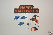 Cricut Hello Kitty Halloween Witch Cardstock Die Cut/Cuts Set
