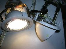 1x bis 6x HQI HIT Einbaustrahler CDM-T 150W Downlight weiss m.EVG ausklappend