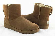 UGG Cory Slim Collection Chestnut Brown Suede Boots Size 8.5 *NEW IN BOX*