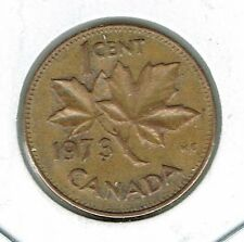 1973 Canadian Circulated One Cent Elizabeth II Coin!