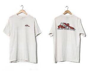 1997 90s Vintage Mens NO FEAR Graphic Tee T Shirt White Size L