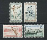 22236) FRANCE 1958 MNH** Nuovi** Traditional Sports 4v
