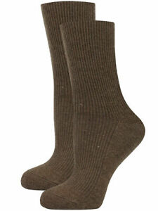 Womens Ribbed Casual 85% Cashmere Wool Socks | Warm and Soft luxury