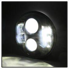 """Fit H6014/H6015/H6024 7"""" Round CREE HID LED Projector Headlight Black (1 Side)"""
