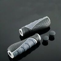 Mountain Cruiser hybrid Bike Grip XLC 2D MTB Bicycle Grips 130mm Dark Gray