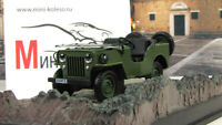 Scale model car 1:43 Willys Jeep M606 (olive), Octopussy