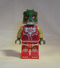 LEGO Legends of Chima Cragger Minifigure Fire Chi 70144 Red Gold Croc Genuine