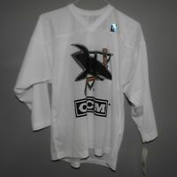 NHL CCM San Jose Sharks Hockey Jersey NEW Youth S/M