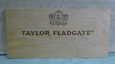 TAYLOR FLADGATE  VINTAGE PORT WOOD WINE PANEL END 3/8'' THICKNESS