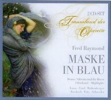 ██ OPERETTE ║ Fred Raymond (*1900) ║ MASKE IN BLAU ║ Hamburg 1953 ║ 2CD