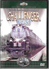 Railway Prod. Challenger 3985, 'America's Steam Trains' (2002) USED DVD