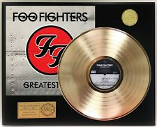 Foo Fighters - Greatest Hits GOLD LP LTD EDITION RECORD DISPLAY