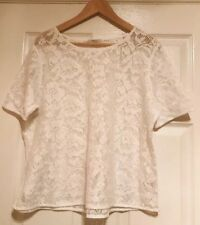 Papaya Lace Top, Size 16