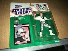 Jay Schroeder Los Angeles Raiders 1989 Kenner SLU Starting Line Up Figure MIP